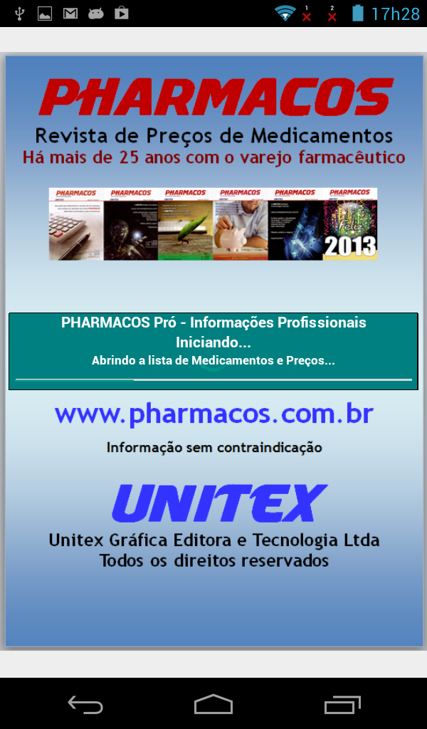Pharmacos Mobile tela 01